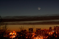 Crescent Moon and Earthshine
