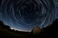 8 Star trails